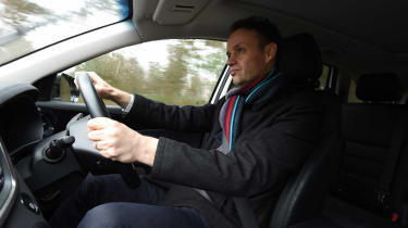 Kia Sorento Long-termer - Graham driving