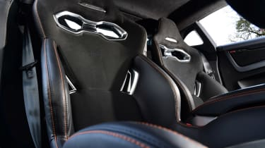 Alpine A110 S - seat detail