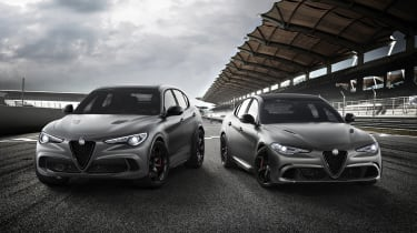 Alfa Romeo Stelvio and Giulia Nurburgring editions