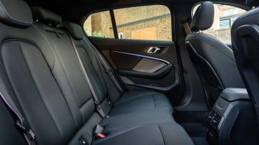 BMW 118i - rear seats