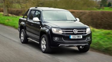 VW Amarok Ultimate 2015 front