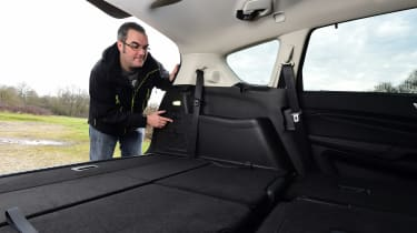 Ford S-MAX long-term - rear seats