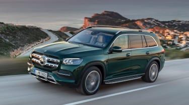 Mercedes GLS - green front