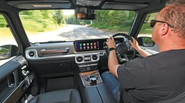 Mercedes-AMG G 63 - long term final report Steve driving