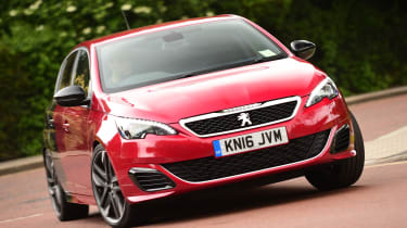 Long-term test review Peugeot 308 GTi - front cornering