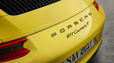 Porsche 911 Carrera T - rear badge