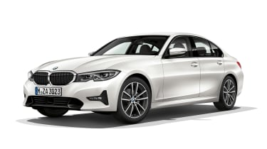 BMW 3 Series - front static white