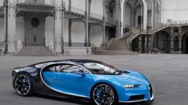 Bugatti Chiron 2016 - Location Shot