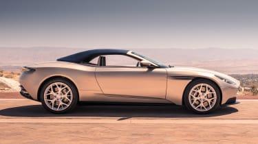 Aston Martin DB11 Volante - side roof up