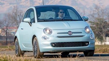 Fiat 500 Mild Hybrid - front action