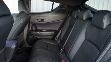 Toyota C-HR - rear seats