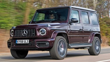 Mercedes-AMG G 63 - long term final report front tracking