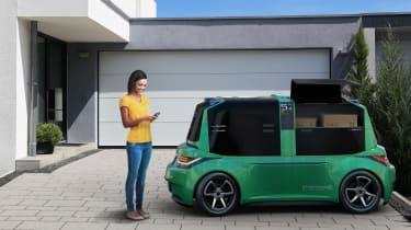 StreetDrone driverless delivery van
