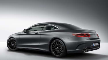 Mercedes S Class Coupe Night Edition