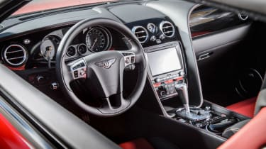 Bentley Continental GT V8 S coupe 2014 interior