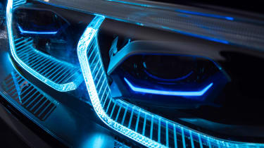 New BMW X7 studio shoot laser