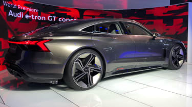 Audi e-tron GT -LA Motor Show - rear 3/4