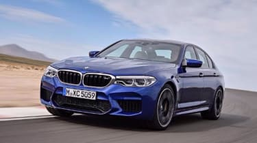 BMW M5 leaked - front