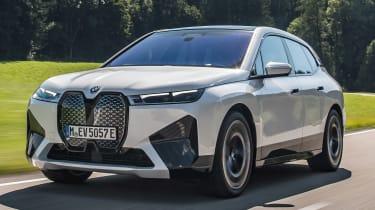 BMW iX - longest range electric cars