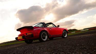 Porsche G series Targa - rear static