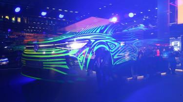 Volkswagen ID.4 - Frankfurt teaser front