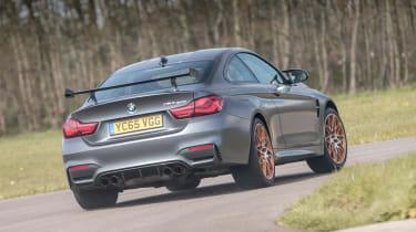 BMW M4 GTS UK 2016 - rear cornering