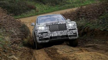 Rolls Royce Cullinan front spy