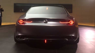 Mazda Vision Coupe concept - full rear