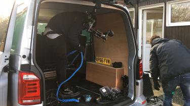 Long-term test review: Volkswagen Transporter Sportline - camera equipment