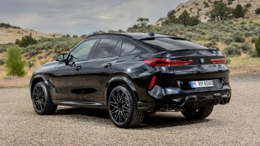 BMW X6 M Competition - rear static