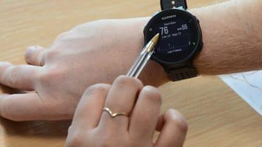tailgating feature garmin smart watch