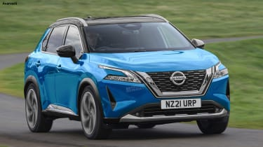 New Nissan Qashqai - exclusive image front