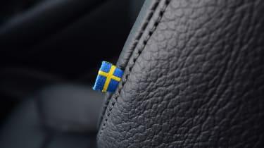 Volvo XC90 T8 - flag detail