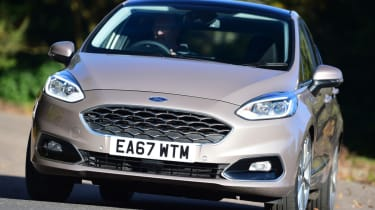 Ford Fiesta Vignale front