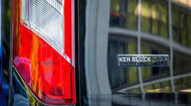 Ken Block M-Sport Ford Transit - signature