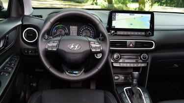 Hyundai Kona Hybrid - interior