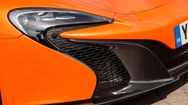 McLaren 650S Spider front light