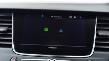 Vauxhall Crossland X - infotainment