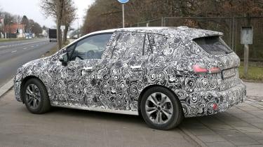 BMW 2 Series Tourer spy - rear