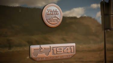 Jeep Wrangler 75th Anniversary - badge detail