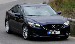 Mazda 6 automatic front cornering