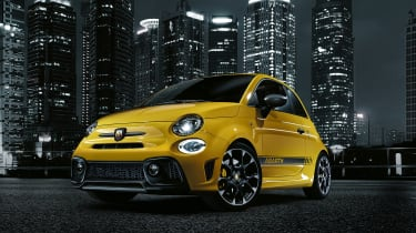 New Abarth 595 front quarter