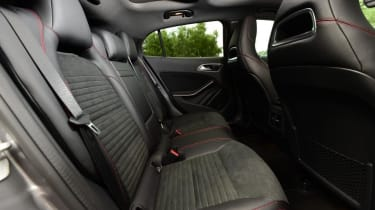 Mercedes GLA - rear seats