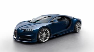 Bugatti Chiron - blue