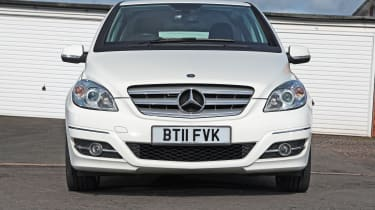 Used Mercedes B-Class - full front