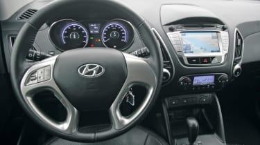 Hyundai ix35 fuel cell prototype dash