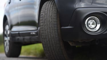 Subaru Outback - long term test final report tyre