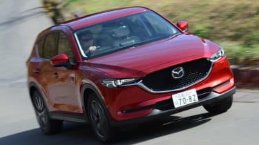 New Mazda CX-5 - front