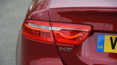 Jaguar XE S - XE badge