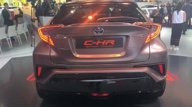 Toyota C-HR Hy-Power - Frankfurt full rear